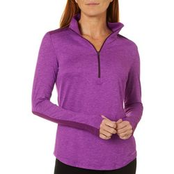 Columbia Womens Place To Place 1/4 Zip Long Sleeve Shirt