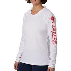 Columbia Womens Tidal Tee Solid Hoodie