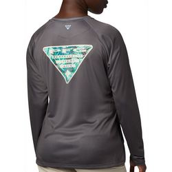 Columbia Womens PFG Tidal Triangle Long Sleeve T-Shirt