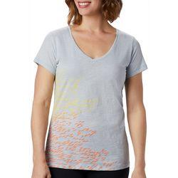 Columbia Womens School Of Fish Graphic T-Shirt