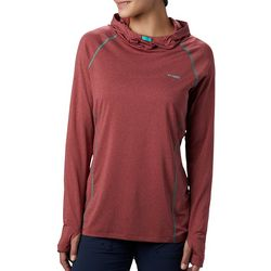 Columbia Womens PFG Tamiami Heather Knit Hoodie