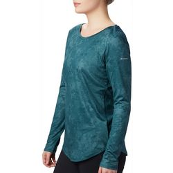 Womens Place To Place II Print Long Sleeve Shirt