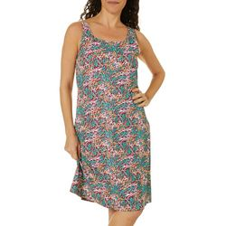Columbia Womens PFG Freezer III Coral Print Dress