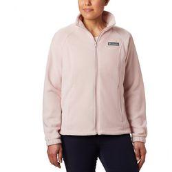 Womens Spring Fleece Zip Up Jacket
