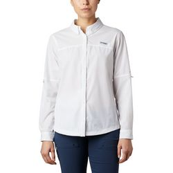 Columbia Womens Coral Point Long Sleeve Woven Shirt