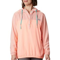 Columbia Womens PFG Tamiami Two-Tone Hooded Shirt