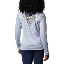 Columbia Womens PFG Tidal Triangle Long Sleeve Shirt