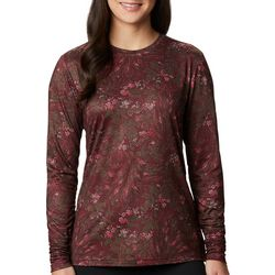 Columbia Womens Pineyridge Floral Printed Long Sleeve Shirt