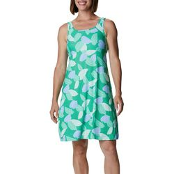 Columbia Womens PFG Freezer III Tropical Leaaves Dress