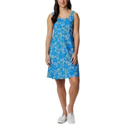 Columbia Womens PFG Freezer III Tropical Palm Dress