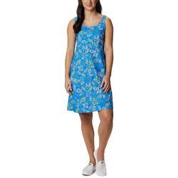Womens PFG Freezer III Hibiscus Print Dress
