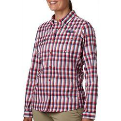 Womens PFG Super Lo Plaid Shirt