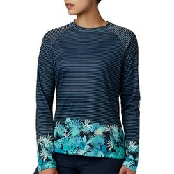 Columbia Womens PFG Tidal Print Long Sleeve Top