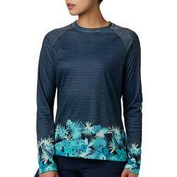 Womens PFG Tidal Print Long Sleeve Top