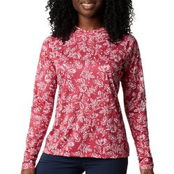 Columbia Womens PFG Super Tidal Lily Long Sleeve Tee