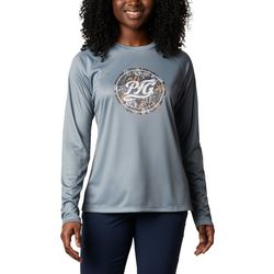 Columbia Womens PFG Medallion Long Sleeve Shirt