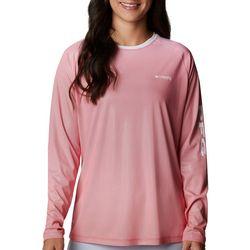 Columbia Womens PFG Tidal Deflector Long Sleeve Shirt