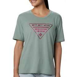 Columbia Womens PFG Triangle Logo Graphic T-Shirt