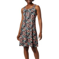 Columbia Womens PFG Hibiscus Print Dress