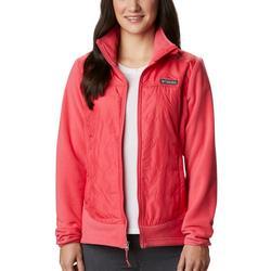 Womens Basin Butte Full Zip Fleece Jacket