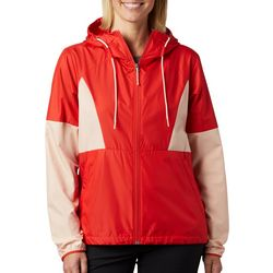 Columbia Womens Side Hill Solid Windbreaker Jacket