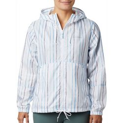 Columbia Womens Flash Forward Striped Windbreaker Jacket