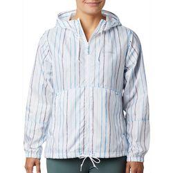 Columbia Womens Flash Forward Striped Windbreaker Jacket