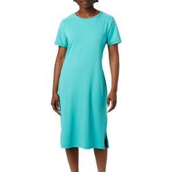Womens Freezer Mid Solid Dress