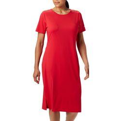 Columbia Womens PFG Freezer Mid Solid Dress