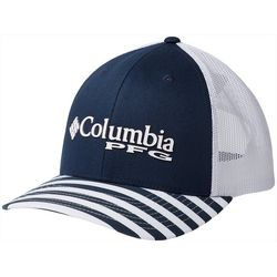 Columbia Womens PFG Mesh Striped Hat