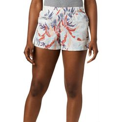 Columbia Womens Sandy River Floral Print Shorts