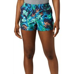 Columbia Womens Sandy River Magnolia Print Shorts