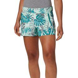 Columbia Womens PFG Tidal II Tropical Palm Leaves Shorts