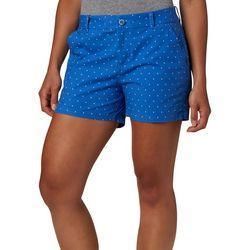 Columbia Womens PFG Bonehead Solid Drawstring Shorts