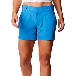 Womens PFG Dual Button Closure Mid Rise Shorts