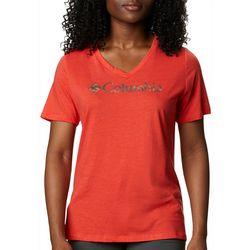 Columbia Womens Mount Rose Logo Graphic T-Shirt