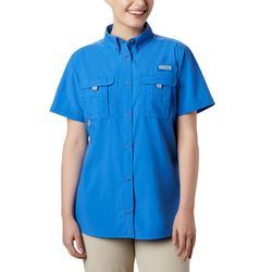Womens PFG Bahama Short Sleeve Shirt