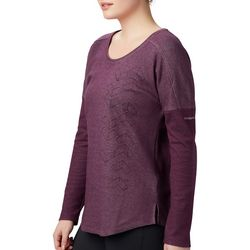 Columbia Womens Canyon Point Henley Long Sleeve Shirt