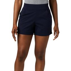 Womens Everyday Solid Pull On Shorts