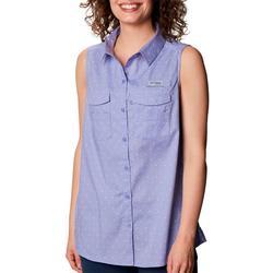 Womens Printed Sleevless Top