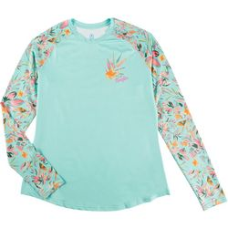 5FIN Womens Printed Long Sleeve Top