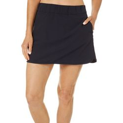 Hi-Tec Womens Solid Trapper Stretch Skort