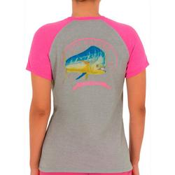 Womens Fish Screen Print On The Front