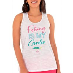 Womens Quote Screen Print Tank Top