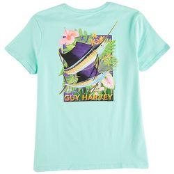 Guy Harvey Womens Short Sleeve Screen Print T-Shirt