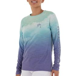 Guy Harvey Womens Ombre Colored Top