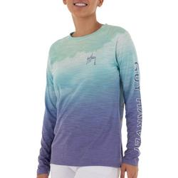 Womens Ombre Colored Top
