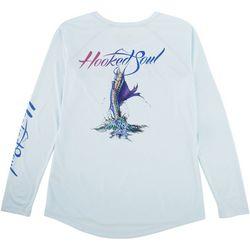 Hooked Soul Womens Sailfish Long Sleeve Top