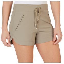 Womens 4'' Drawstring Shorts
