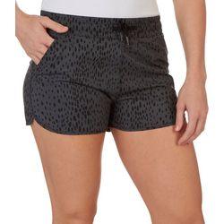 Kyodan Womens Black Tiger Drawstring Shorts